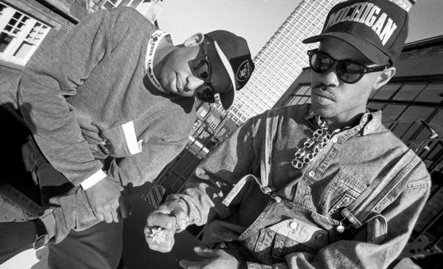 Guru and DJ Premier in 1990