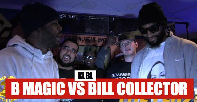 B Magic vs Bill Collector