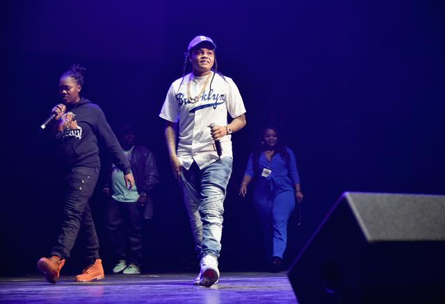 Young MA performing