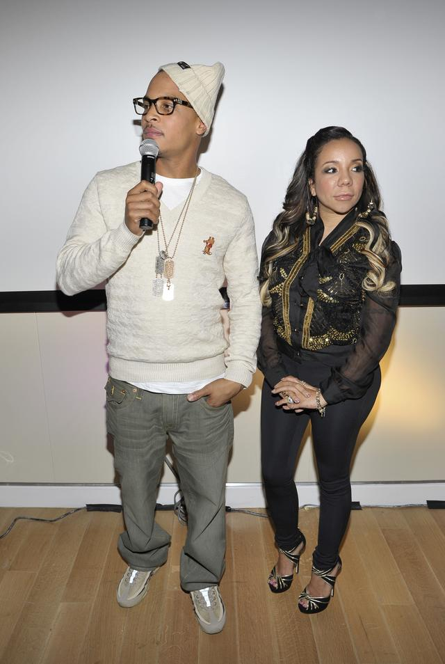 T.I. & Tiny at The Family Hustle premiere
