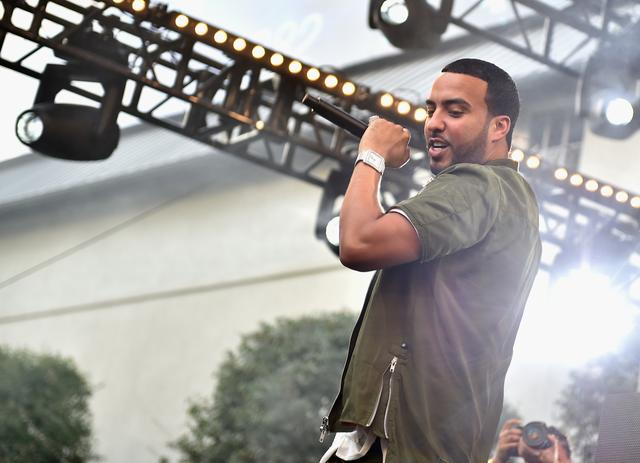 French Montana performing at EpicFest