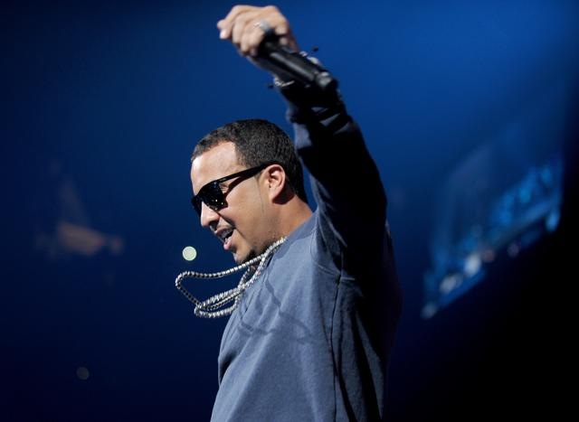 French Montana performing at Powerhouse 2014