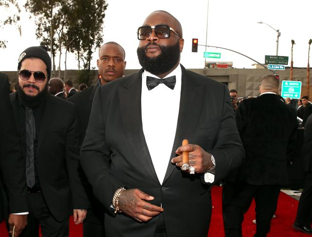 Rick Ross in a suit