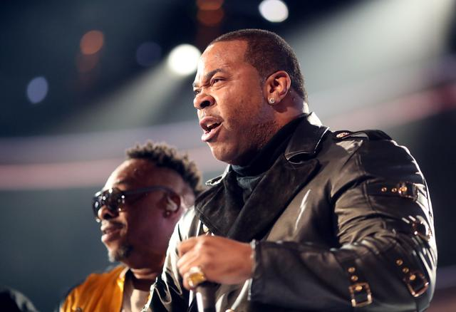 Busta Rhymes at the Grammys