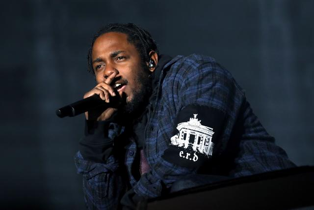 Kendrick at Samsung event