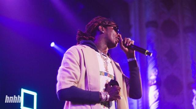 Young Thug performing live in Chicago