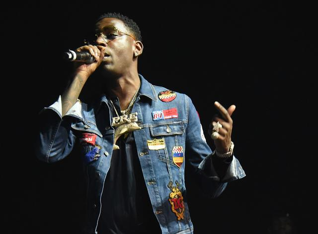 Young Dolph at 2 Chainz show