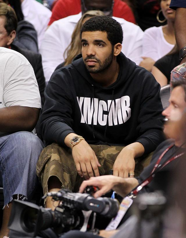 Drake at NBA Game 2011