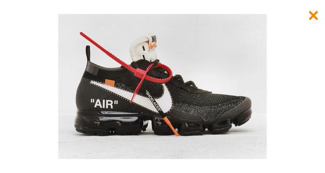 Off-White X Nike Collection