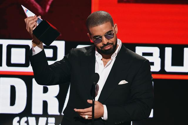 Drake at the AMAs