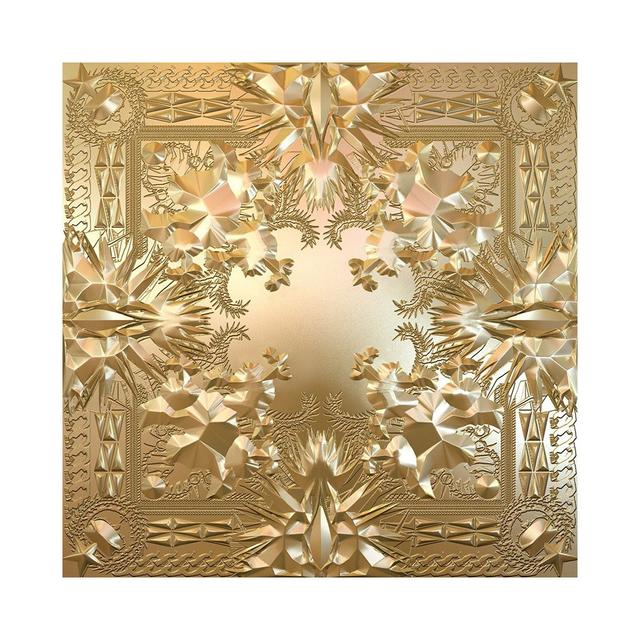 Jay-Z & Kanye West Watch the Throne cover