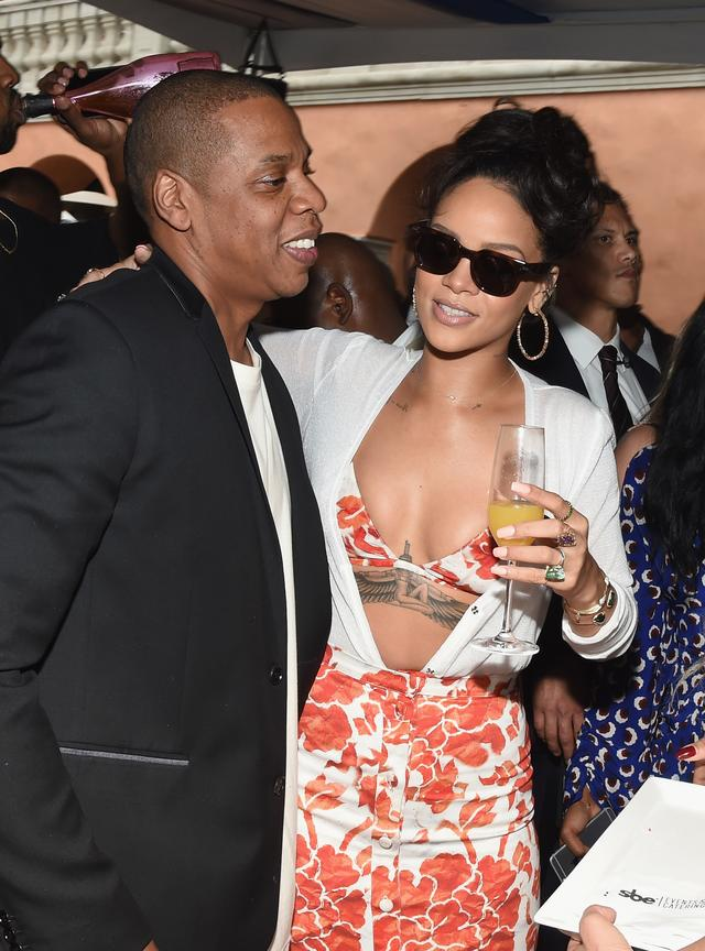 Rihanna and Jay-Z at brunch together