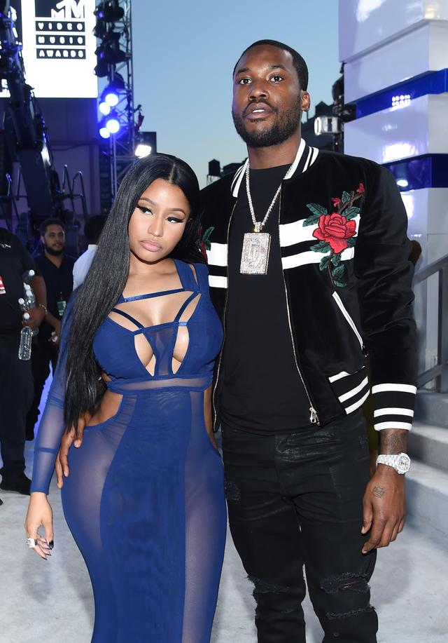 Meek Mill and ex-girlfriend Nicki Minaj