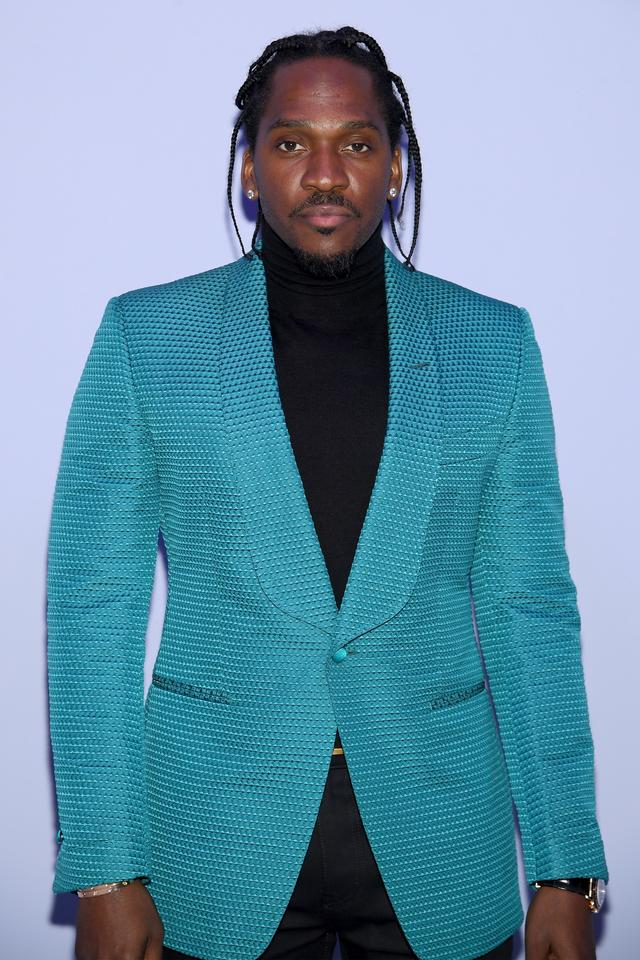 Pusha T at Tom Ford runway show