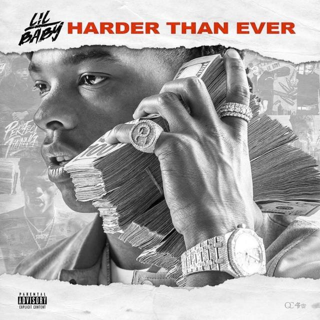 "Lil Baby ""Harder Than Ever"" album cover"