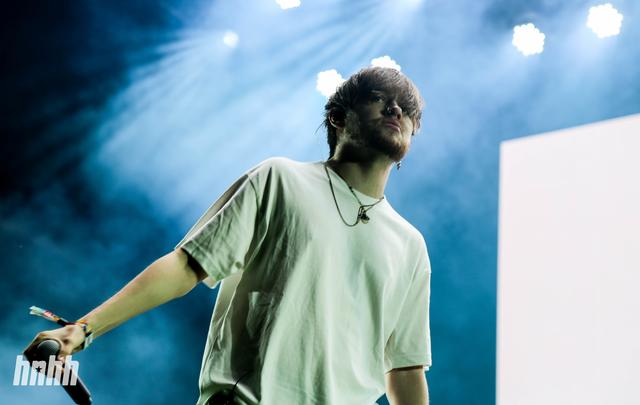 Bearface of Brockhampton at Osheaga
