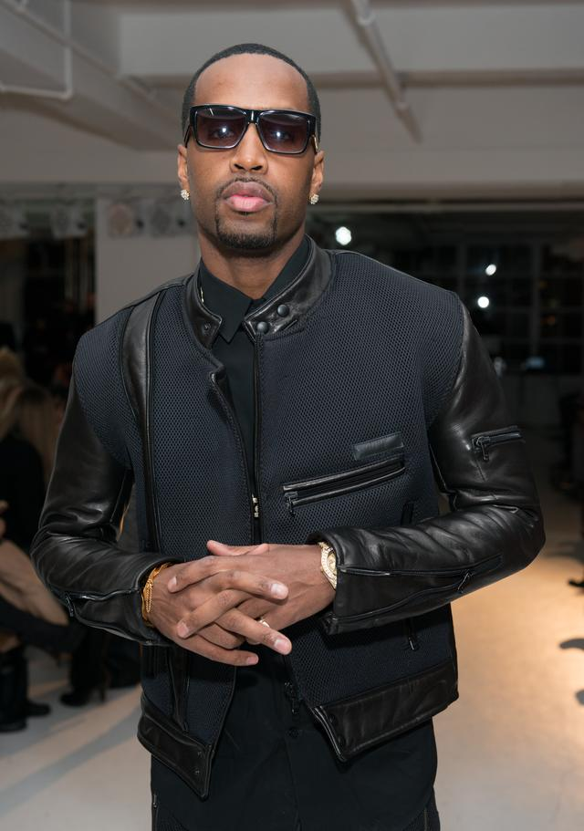 Safaree SB Samuels at NYFW