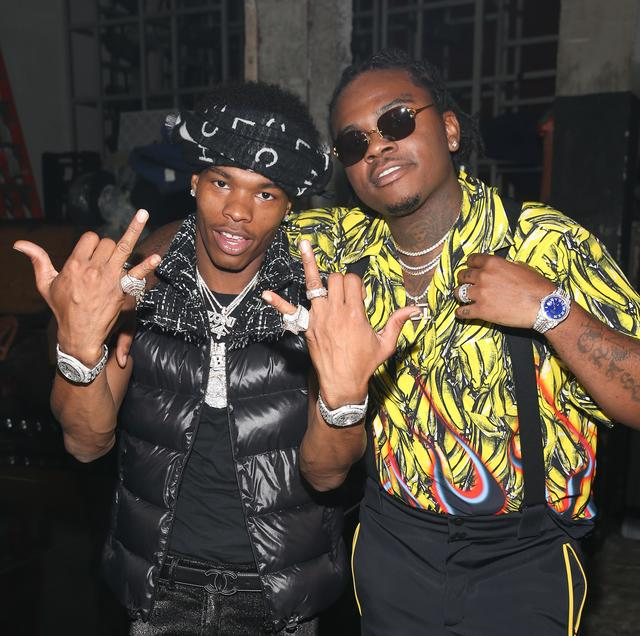 Gunna and Lil Baby at BET hip-hop awards 2018