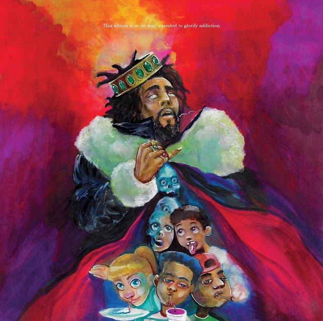 """J. Cole """"1985 (Intro To """"The Fall Off"""")"""" art"""