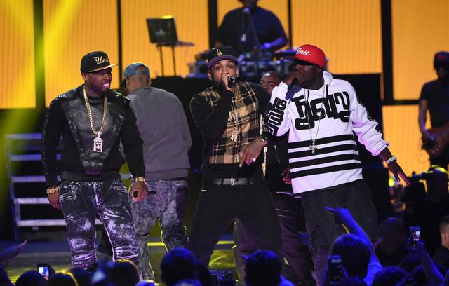 G-Unit reunion on stage