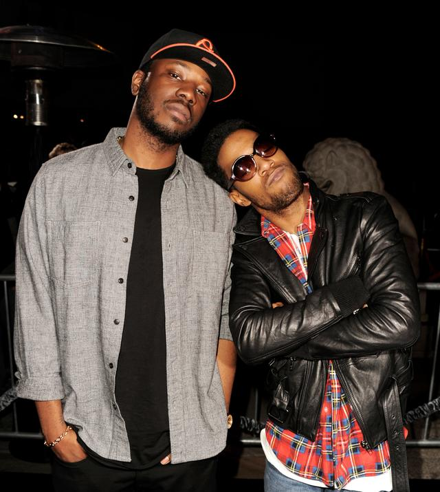 Kid Cudi and Dot Da Genius