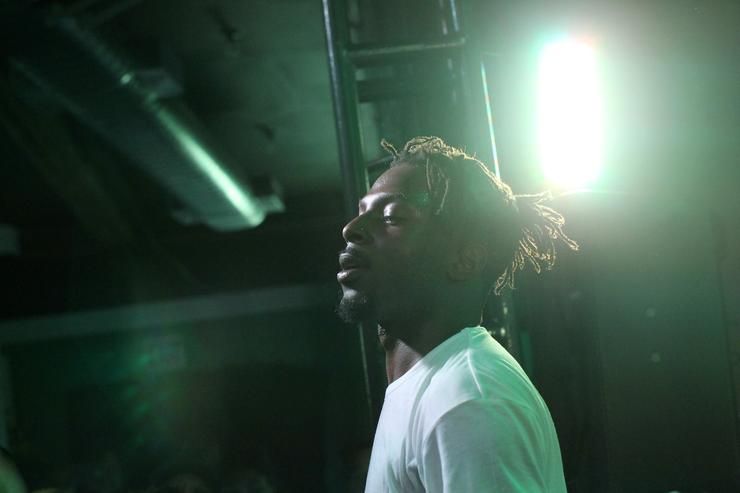 Isaiah Rashad at The Sprite Corner Closing Concert With Nas