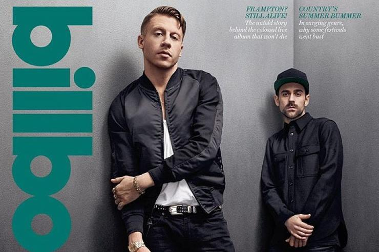 Macklemore & Ryan Lewis Billboard cover