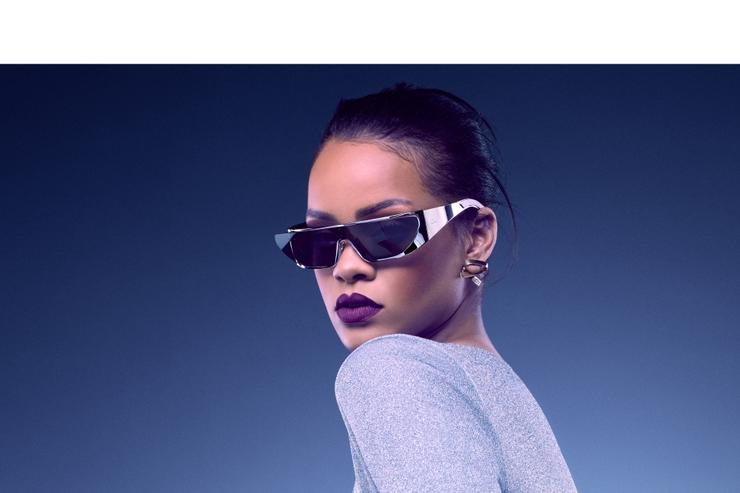 Rihanna wears her Dior collection
