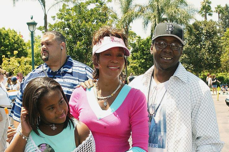 Bobby Brown, Whitney Houston and Bobbi Kristina Brown