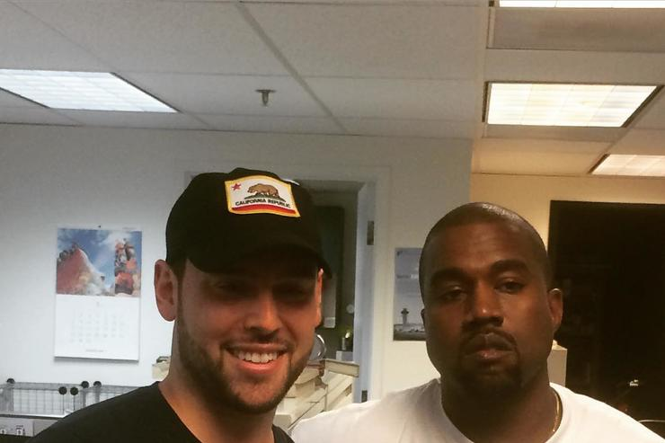 Scooter Braun & Kanye West