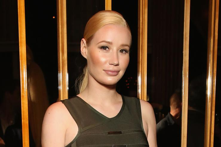 Iggy Azalea at Serena Williams' event