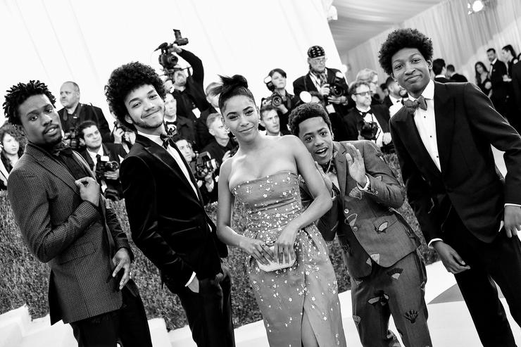 """The cast of """"The Get Down"""""""