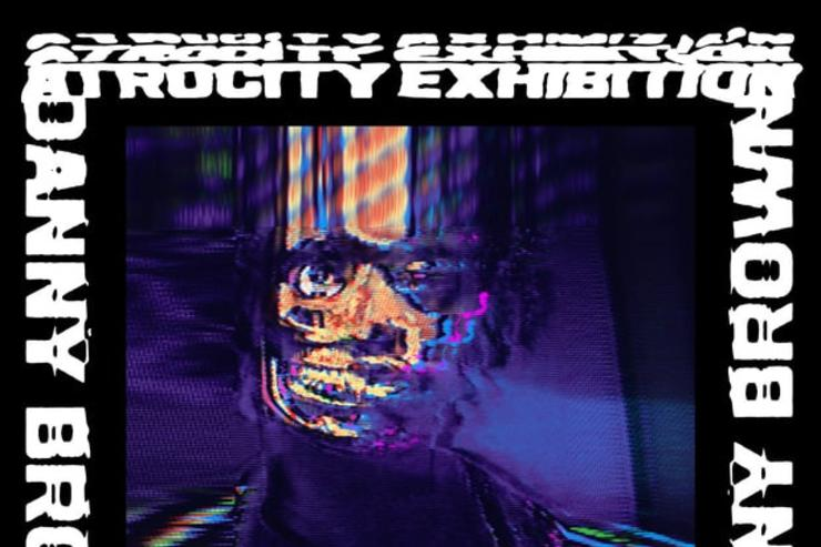 "Danny Brown ""Atrocity Exhibition"" cover art"