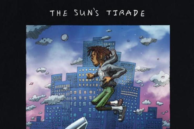 "Isaiah Rashad's ""The Sun's Tirade"" album cover"