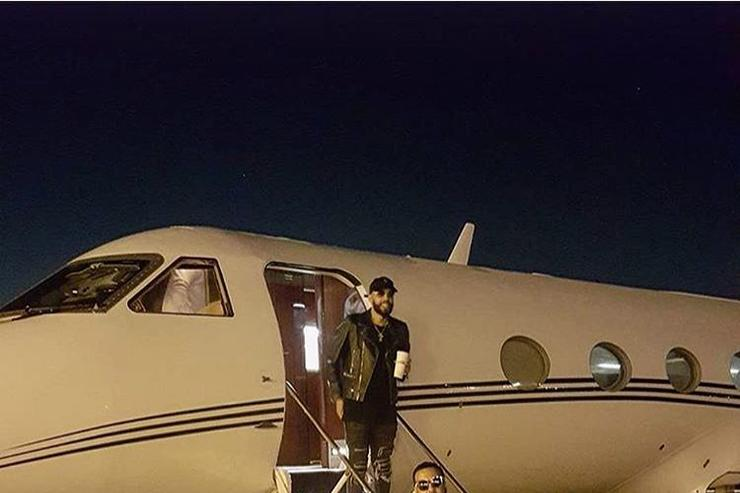 French Montana airplane