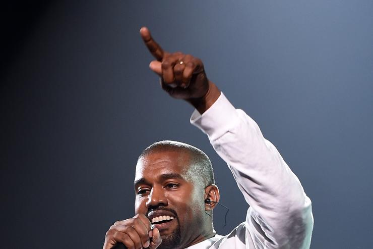 Kanye West at Puff Daddy reunion show in NYC