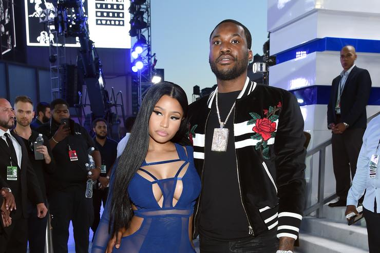 Nicki Minaj and Meek mill together