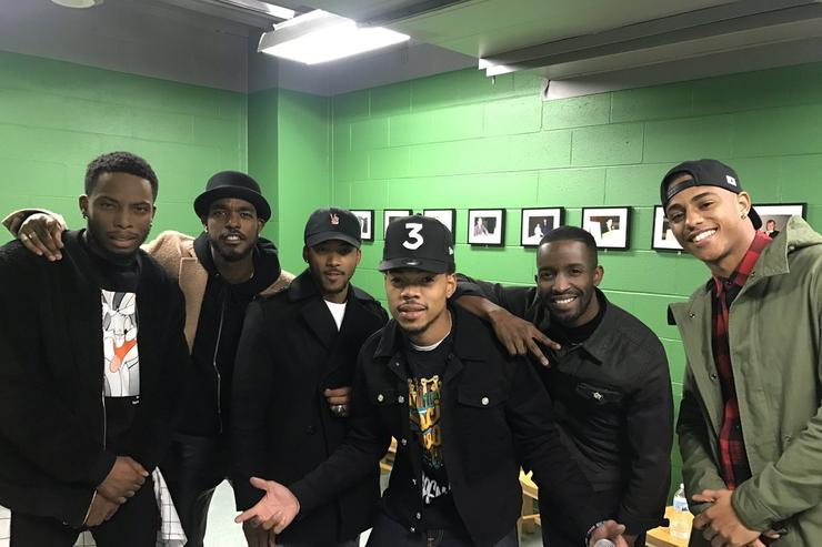 New Edition x Chance The Rapper