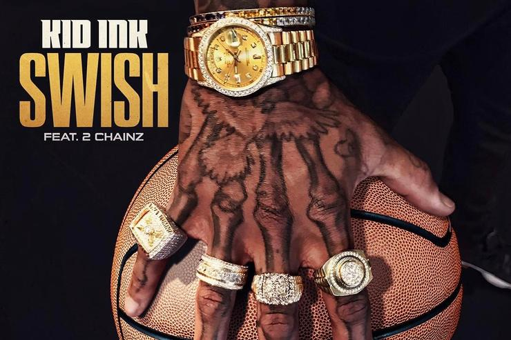 "Kid Ink artwork for ""Swish"""