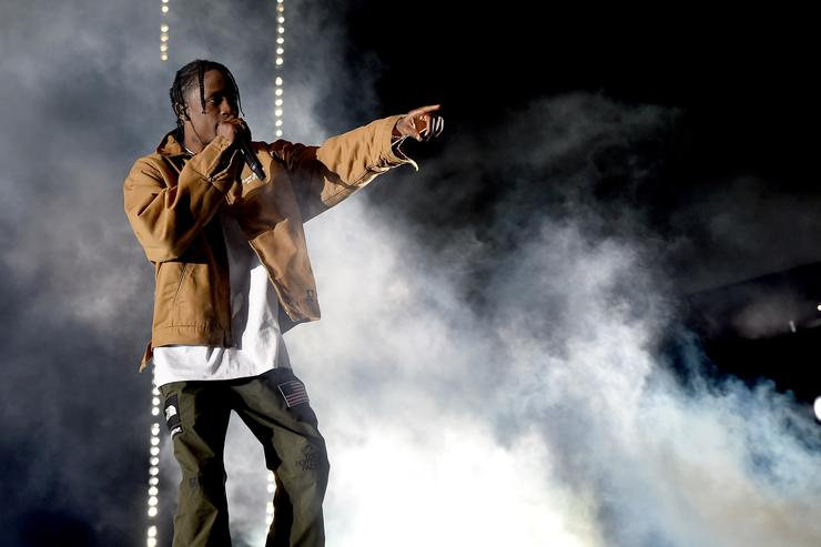 Travis Scott Coachella 2017
