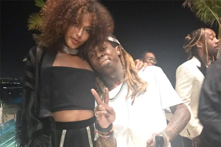 "Lil Wayne on set of ""Love U Better"""