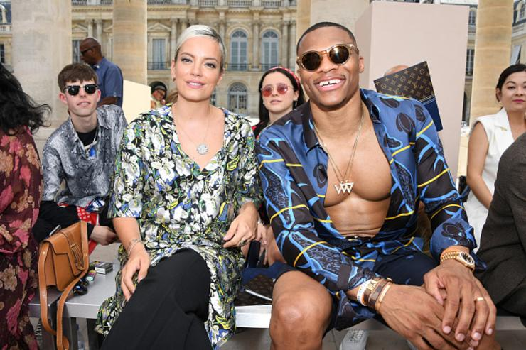 Lily Allen x Russell Westbrook