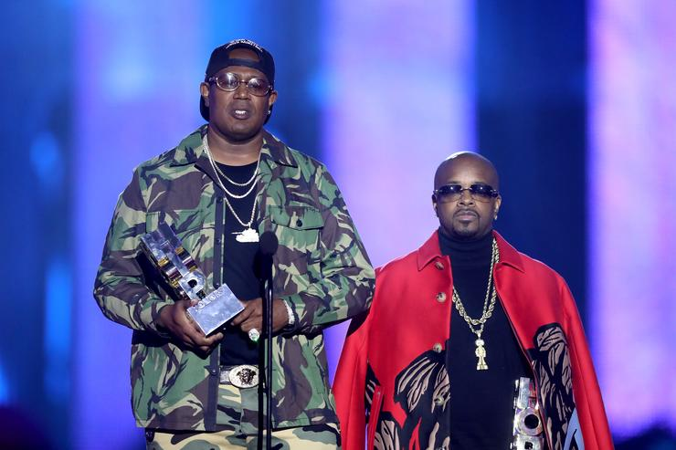 Master P & Jermaine Dupri at VH1 Hip Hop Honors