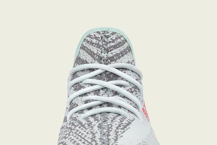 YEEZY 350 BOOST V2 MINT BLUE COLOR B37571 FROM