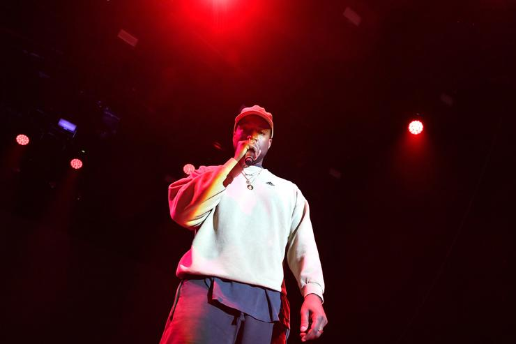 Kanye West Is Apparently Back On His Mountaintop Making Music