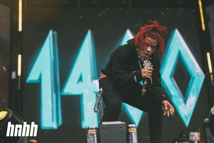 Trippie Redd at Rolling Loud 2018