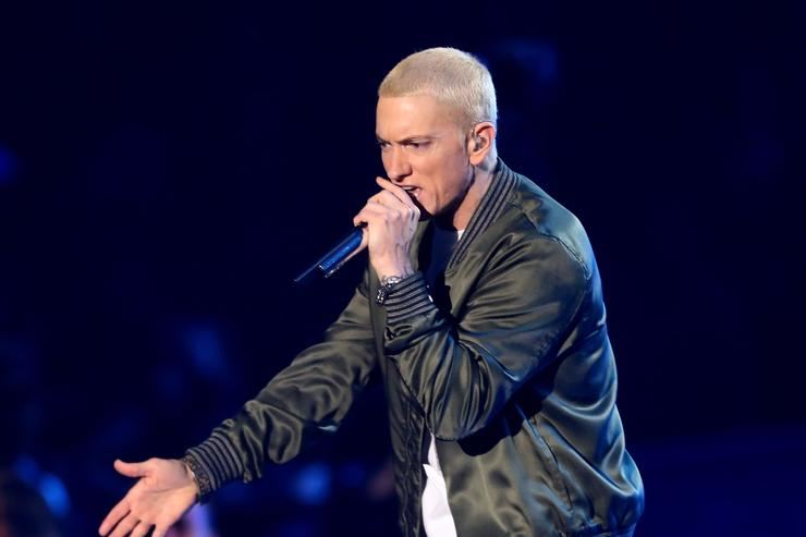 Eminem disses mumble rappers, collabs w/ Justin Vernon on surprise 'Kamikaze'